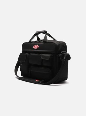 DAYLIFE MULTI POCKET CROSS BAG (BLACK)