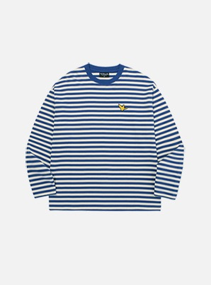 MARK GONZALES STRIPE LONG SLEEVE BLUE