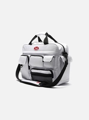 DAYLIFE MULTI POCKET CROSS BAG (WHITE)