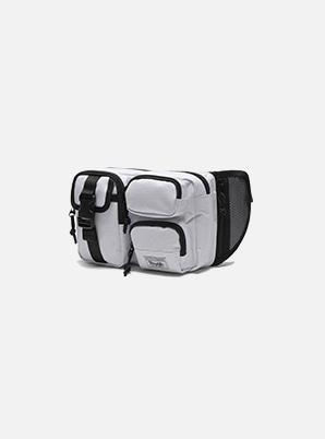 DAYLIFE MULTI BLOCK WAIST BAG (WHITE)