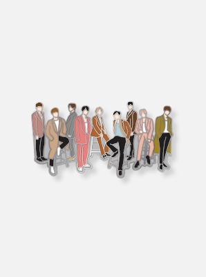 SUPER JUNIOR DIY PIN - TIMELESS
