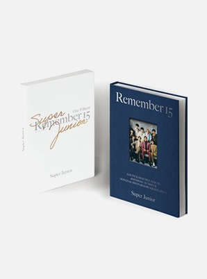 SUPER JUNIOR 15th ANNIVERSARY PHOTO BOOK [REMEMBER 15]