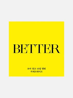 BoA The 10th Album - BETTER (카세트테이프)