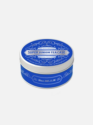 SUPER JUNIOR 15th ANNIVERSARY TEA CASE