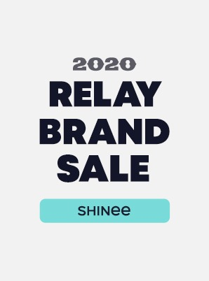 [RELAY BRAND SALE] SHINee 4th WEEK SPECIAL PRICE - 3,900