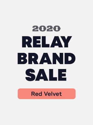 [RELAY BRAND SALE] Red Velvet 4th WEEK SPECIAL PRICE - 2,900