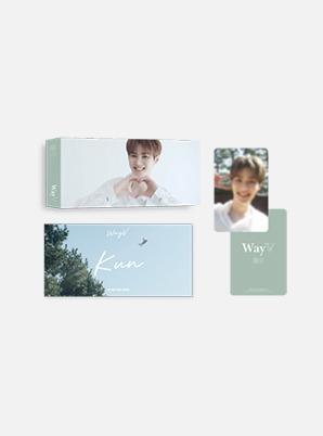 WayV FLIP BOOK + PHOTO CARD SET - 假日