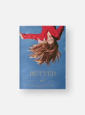 BoA The 10th Album - BETTER (일반반)