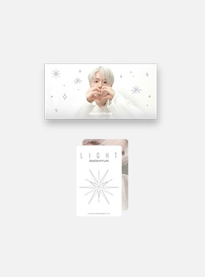 BAEKHYUN Beyond LIVE - BAEKHYUN : LIGHT FLIP BOOK + PHOTO CARD SET
