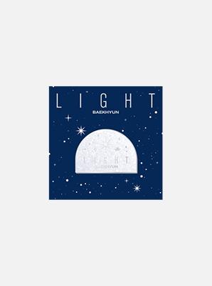 BAEKHYUN Beyond LIVE - BAEKHYUN : LIGHT BADGE (LOGO ver.)