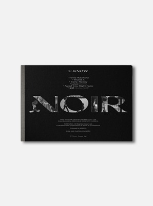 U-Know The 2nd Mini Album - NOIR(Crank Up Ver.)