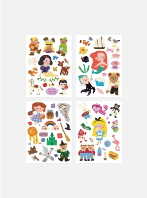JUICY BEAR REMOVER STICKER_FAIRY TALE