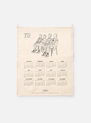 SHINee  2021 Canvas Drawing Calendar