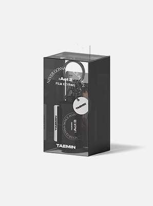 TAEMIN FILM KEYRING - Never Gonna Dance Again : ACT 2