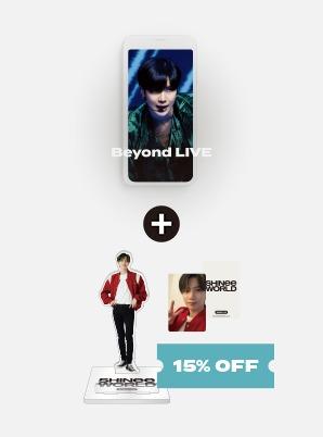 SHINee Beyond LIVE - SHINee : SHINee WORLD Live Streaming + SMARTPHONE STAND
