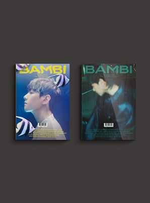 BAEKHYUN The 3rd Mini Album - Bambi (Photo Book Ver.) (Random cover ver.)