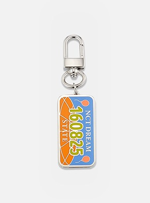 NCT DREAM NUMBER PLATE KEY RING