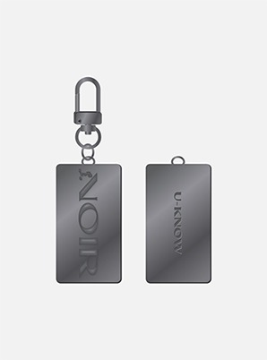 U-Know KEY RING - NOIR