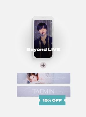 Beyond LIVE - TAEMIN : N.G.D.A [SHINee WORLD ACE ONLY] Live Streaming + SLOGAN
