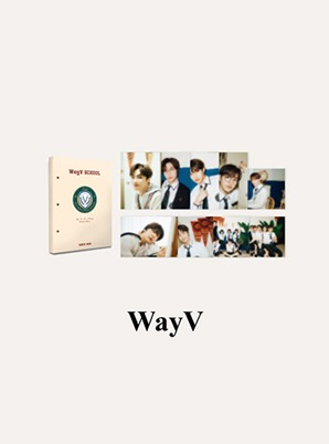 WayV HARD COVER POSTCARD BOOK - 2021 BACK TO SCHOOL KIT