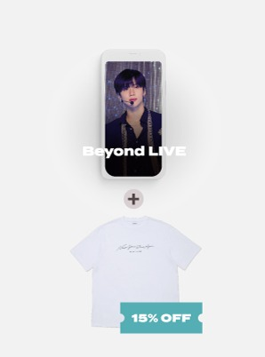 Beyond LIVE - TAEMIN : N.G.D.A [SHINee WORLD ACE ONLY] Live Streaming + T-SHIRT