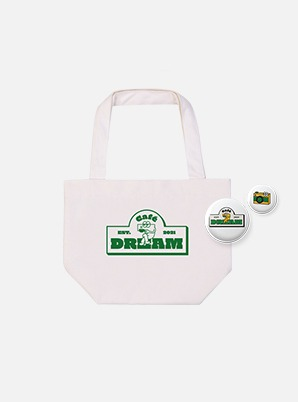 NCT DREAM MINI ECO BAG + PIN BADGE SET - Café 7 DREAM