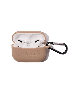 MARK GONZALES AIRPODS PRO CASE BEIGE