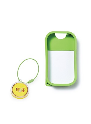 TOUCH LAND POWER MIST SHIELD_GREEN + ARTIST TOUCH KEYRING