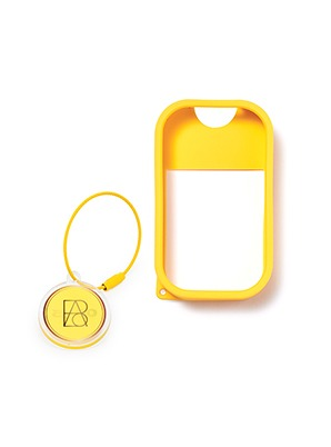 TOUCH LAND POWER MIST SHIELD_YELLOW + ARTIST TOUCH KEYRING