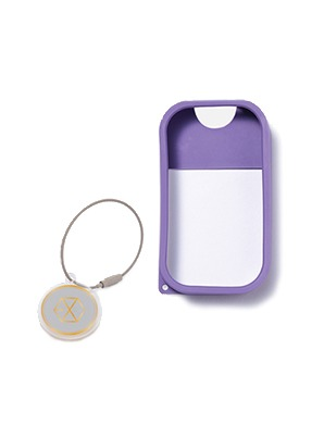 TOUCH LAND POWER MIST SHIELD_PURPLE + ARTIST TOUCH KEYRING