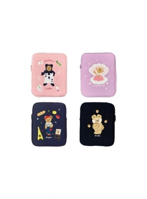 SECONDMANSIONJUCY BEAR TABLET PC POUCH 11inch