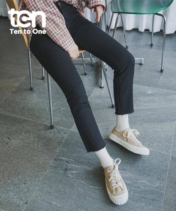 TEN_베이직일자팬츠(재입고완료)