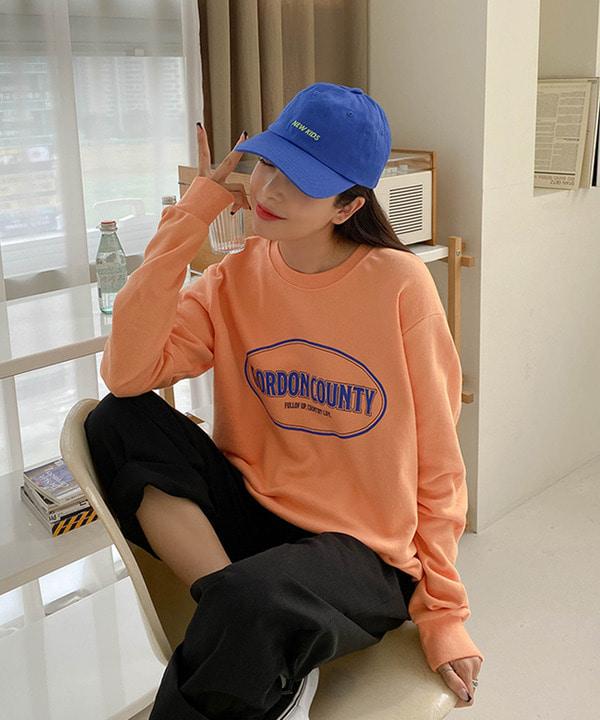심플나염박시맨투맨