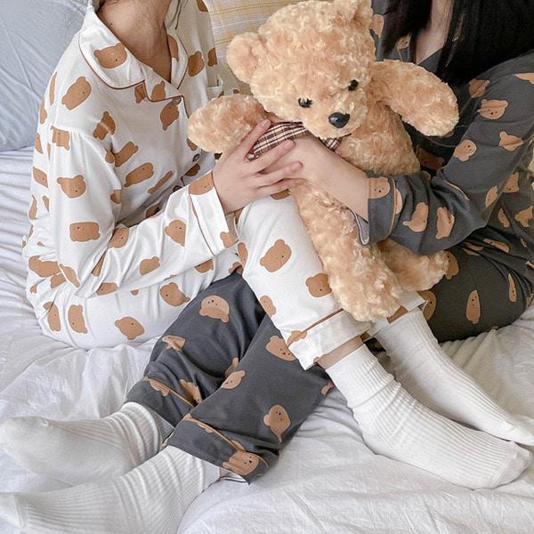 러블리 베어 파자마 잠옷