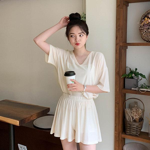 [여름기획]입는순간!냉장고브이넥SET