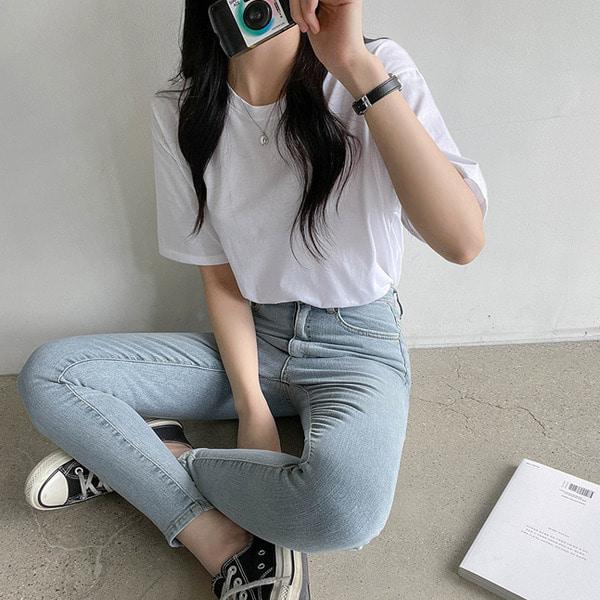 [1+1기획] 7days♥ 매일 입는 베이직 반팔 3종