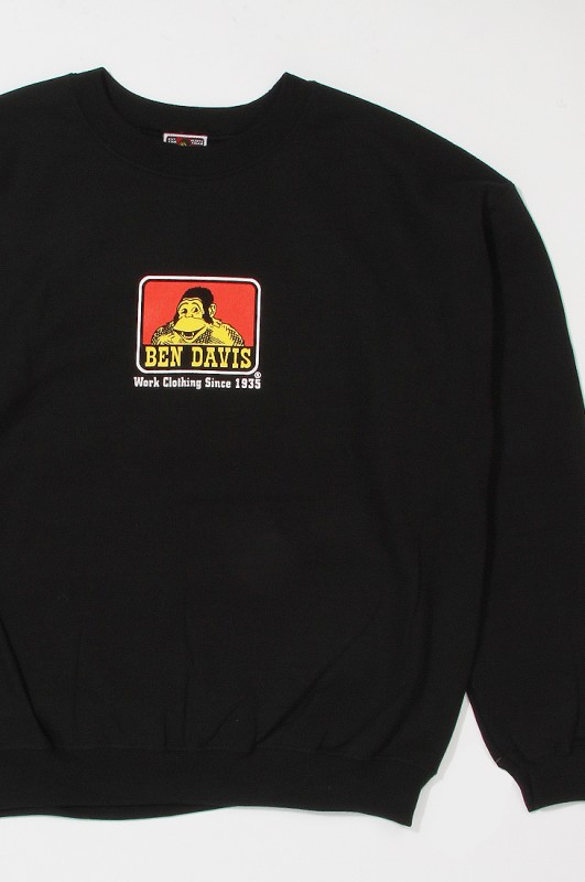 BENDAVIS Crew Sweatshirt Black