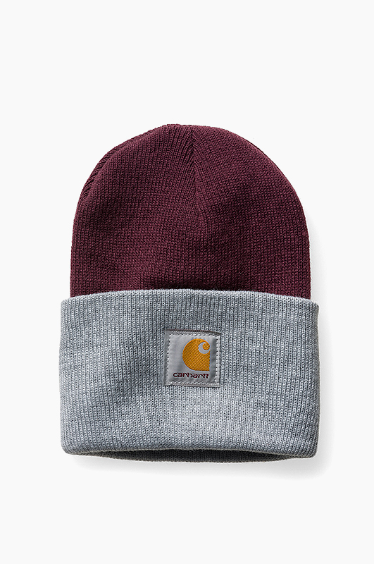 CARHARTT-WIPBi-Colored Beanie Burnt Umber/Grey