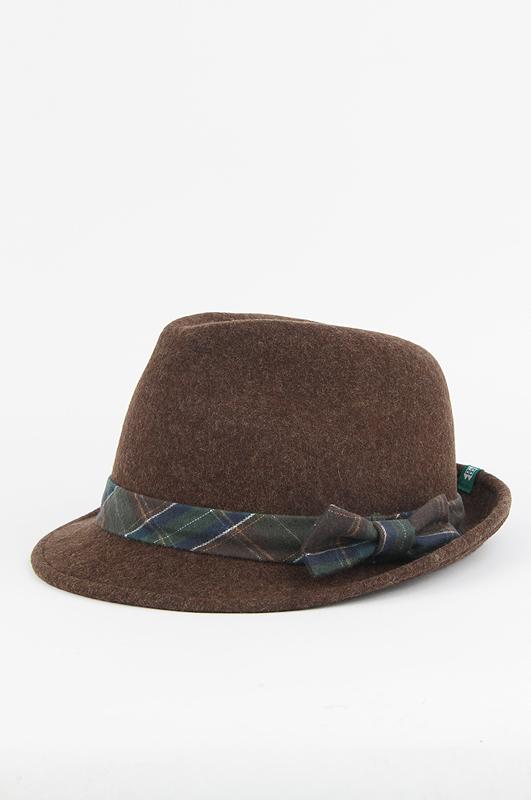 INHABITANT Check Hat BR