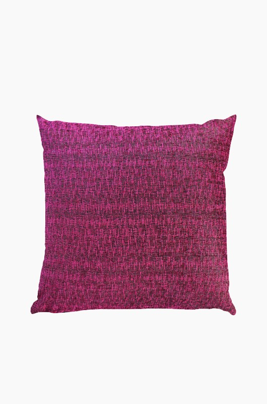 SEPTEMBER ROOM Tweed Cushion Magenta
