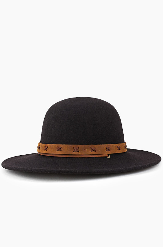 BRIXTON Clay Hat Black/Tan