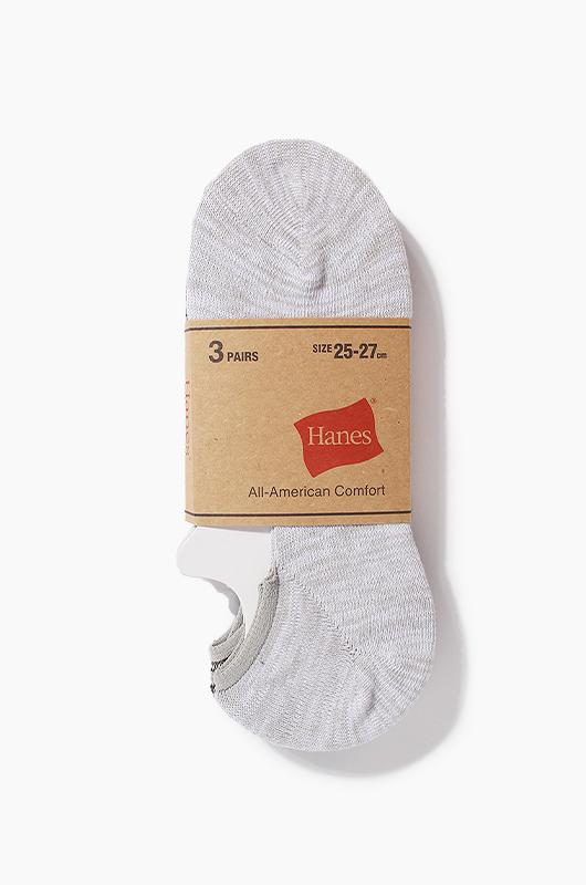 HANESLow Socks 3Pack AST