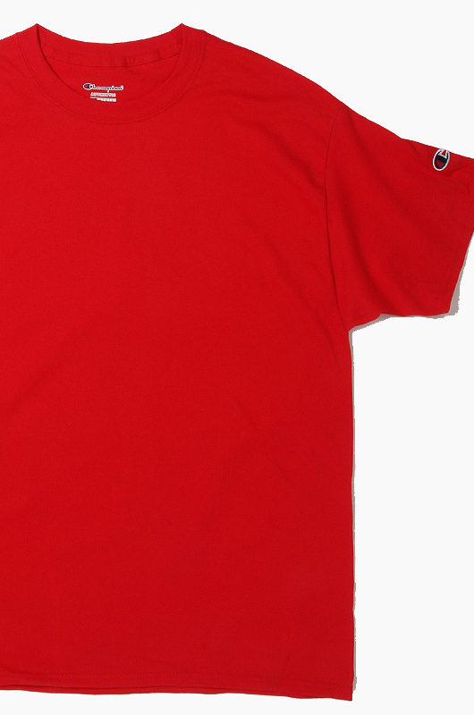 CHAMPION Basic S/S Red