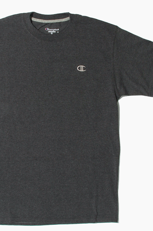 CHAMPION Jersey Tee Charcoal