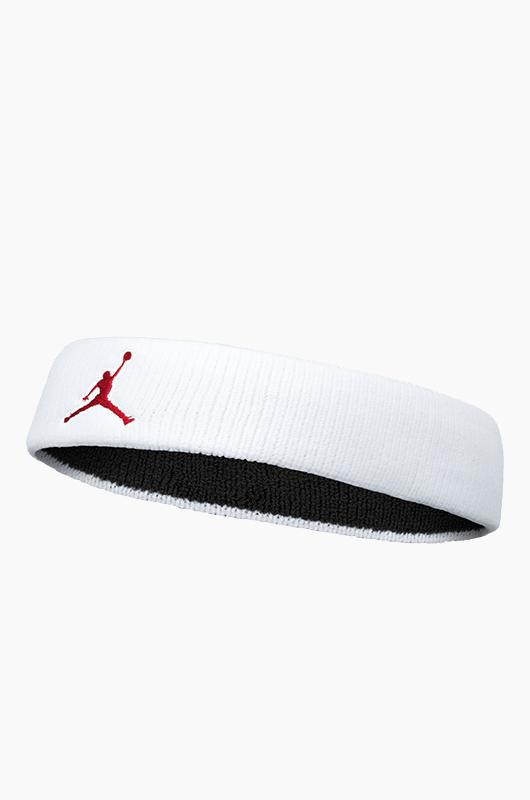 NIKEJordan Logo Headband White/Red