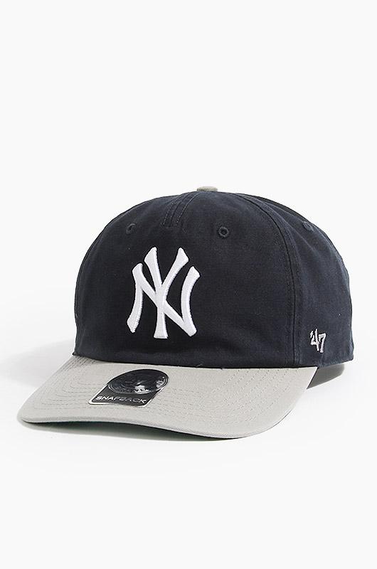 47BRAND MLB Marvin 47 Captain Rf Yankees(Navy/Grey)