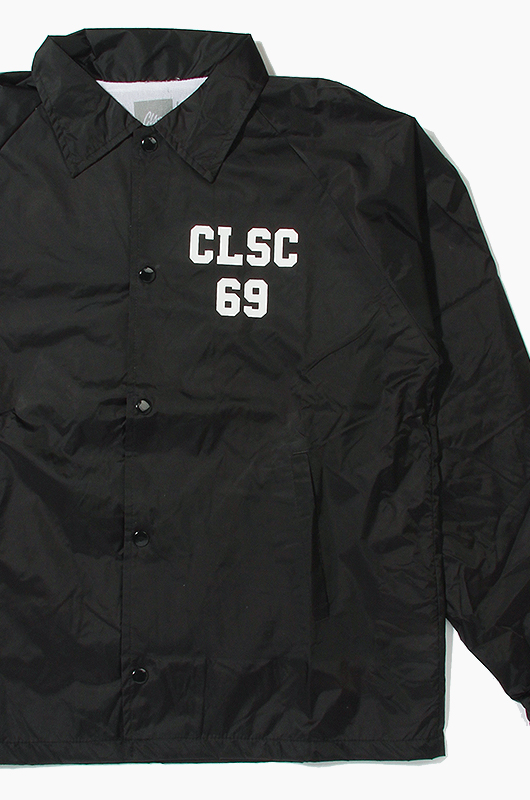 CLSCPoor Sport Coaches Jacket Black