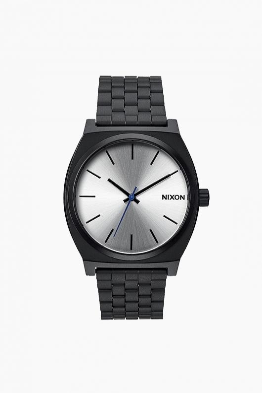 NIXON Time Teller Black/Silver