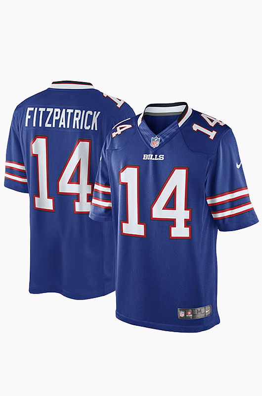 NFL Nike Bills Game Jersey Blue(14)