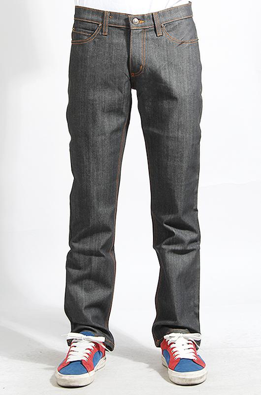 RUSTICDIME Slim Fit Charcoal Grey